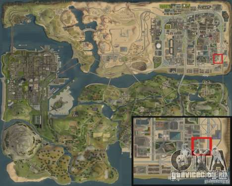 Новая заправка Shell для GTA San Andreas