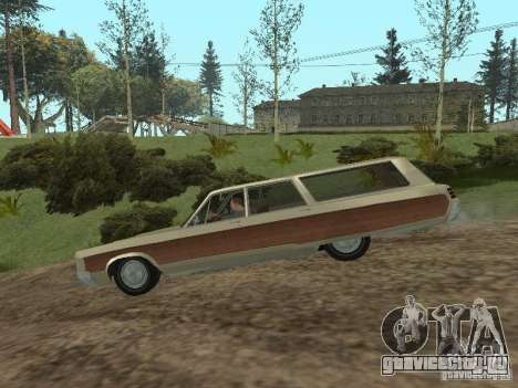 Chrysler Town and Country 1967 для GTA San Andreas вид сзади слева