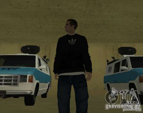 Репортер Итальянец для GTA San Andreas второй скриншот