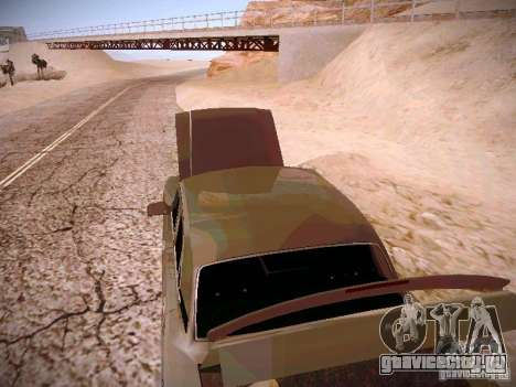 ГАЗ 31025 для GTA San Andreas вид изнутри