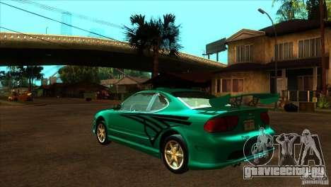 Oldsmobile Alero 2003 для GTA San Andreas вид снизу