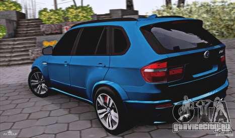 BMW X5M 2013 v1.0 для GTA San Andreas вид слева