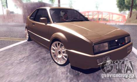 Volkswagen Corrado для GTA San Andreas вид изнутри