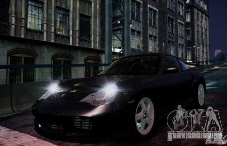 Porsche 911 Turbo S для GTA 4 вид изнутри