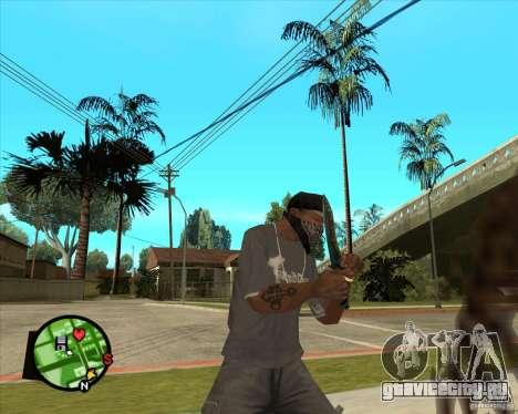 Нож из Counter-Strike для GTA San Andreas третий скриншот