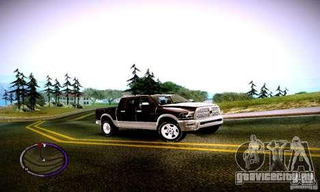 Dodge Ram для GTA San Andreas вид слева