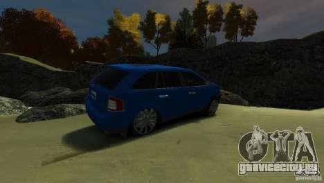 Ford Edge 2007 для GTA 4 вид справа