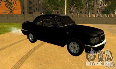 ГАЗ Волга 3110 купе для GTA San Andreas вид слева