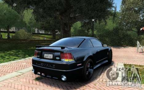 Ford Mustang Cobra R для GTA 4 вид изнутри