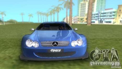 Mercedes-Benz CLK500 C209 для GTA Vice City вид справа