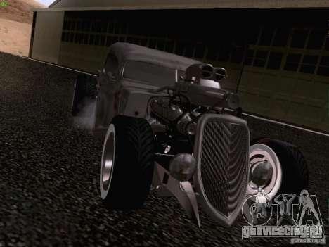 Ford Pickup Ratrod 1936 для GTA San Andreas вид справа