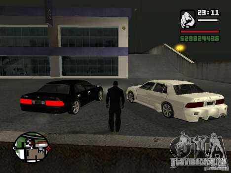 Toyota Crown Tunable для GTA San Andreas вид слева