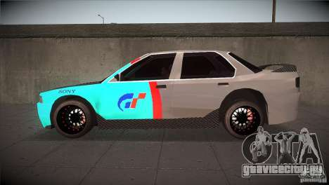 Honda Accord для GTA San Andreas вид слева