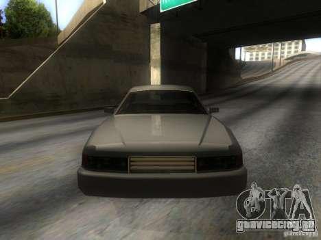 Merit Coupe для GTA San Andreas вид сзади