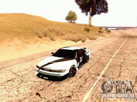 Nissan Silvia S14 Matt Powers 2012 для GTA San Andreas