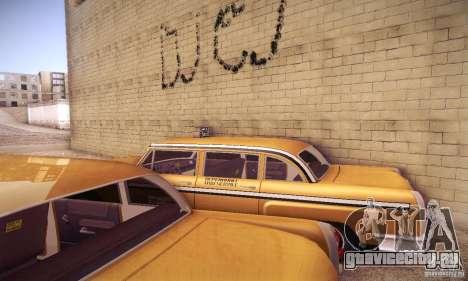 Cabbie HD для GTA San Andreas вид изнутри