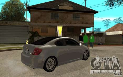Scion tC - Stock для GTA San Andreas вид справа