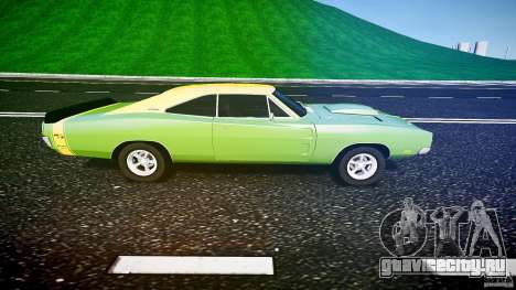 Dodge Charger RT 1969 tun v1.1 для GTA 4 вид слева