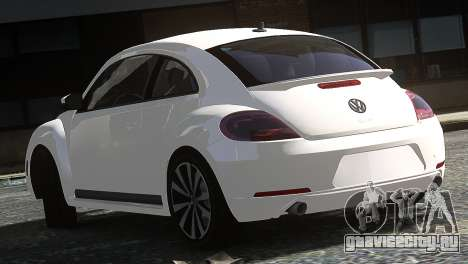 Volkswagen Beetle Turbo 2012 для GTA 4