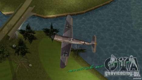 WW2 War Bomber для GTA Vice City вид сзади слева
