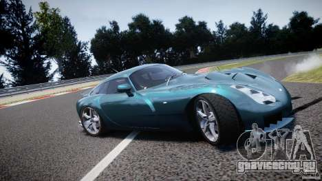TVR Sagaris для GTA 4 двигатель