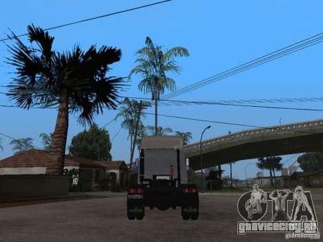 МАЗ 543205 Тюнинг для GTA San Andreas вид сзади слева