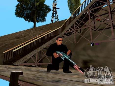 Ice Weapon Pack для GTA San Andreas седьмой скриншот