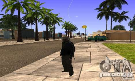 Grove Street v1.0 для GTA San Andreas пятый скриншот