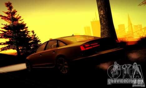Audi A6 2012 для GTA San Andreas колёса