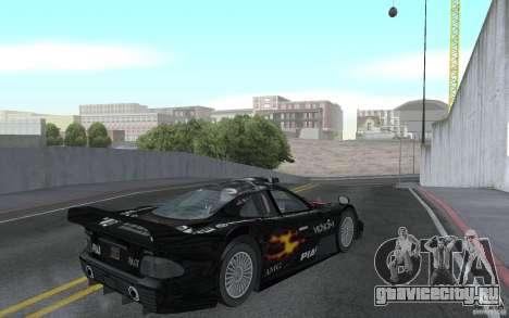 Mercedes-Benz CLK GTR road version (v2.0.0) для GTA San Andreas вид справа
