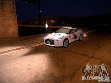 Nissan GT-R для GTA San Andreas колёса