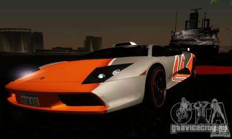 Lamborghini Murcielago для GTA San Andreas салон