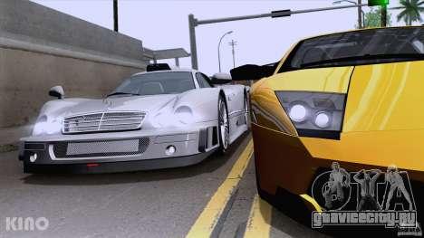 Mercedes-Benz CLK GTR Road Carbon Spoiler для GTA San Andreas вид справа