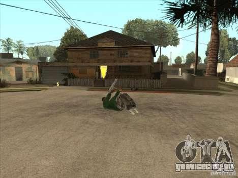 Parkour 40 mod для GTA San Andreas