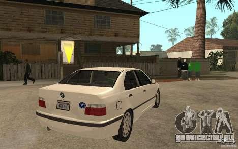 BMW 320i E36 для GTA San Andreas