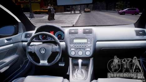 Volkswagen Golf 5 GTI для GTA 4 вид сверху