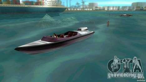 Ski Speeder для GTA Vice City вид слева