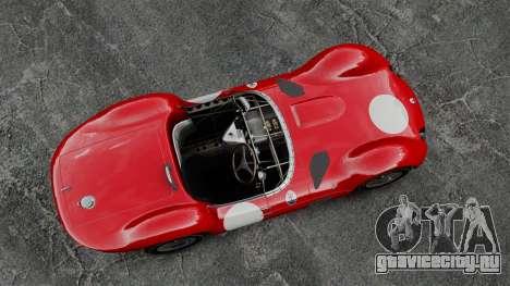 Maserati Tipo 60 Birdcage для GTA 4 вид справа