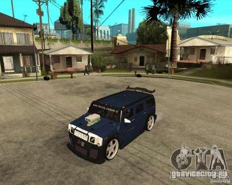 AMG H2 HUMMER Jvt HARD exclusive TUNING для GTA San Andreas