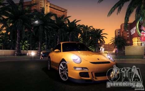 Porsche 911 GT3 (997) 2007 для GTA San Andreas вид снизу