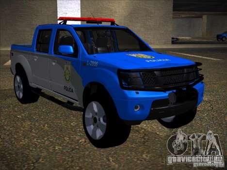 Nissan Frontier PMERJ для GTA San Andreas