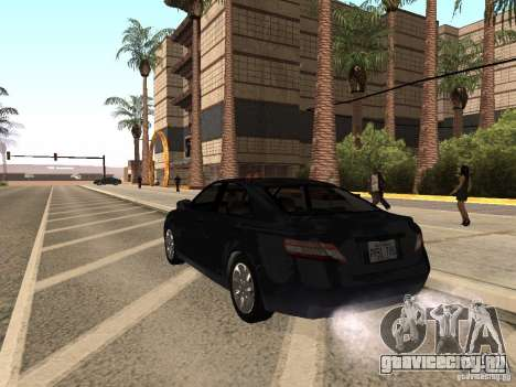 Toyota Camry 2010 для GTA San Andreas вид слева