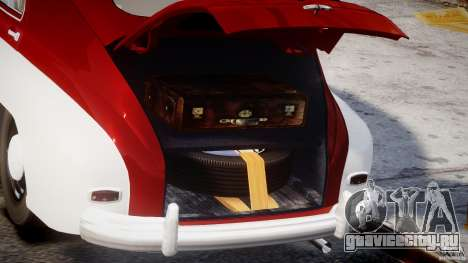 ГАЗ М20В Победа v.1.0 для GTA 4 вид сзади