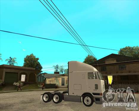 Navistar International 9800 для GTA San Andreas вид справа