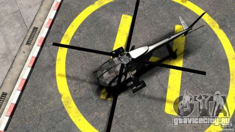 AH-6 LittleBird Helicopter для GTA 4 вид справа