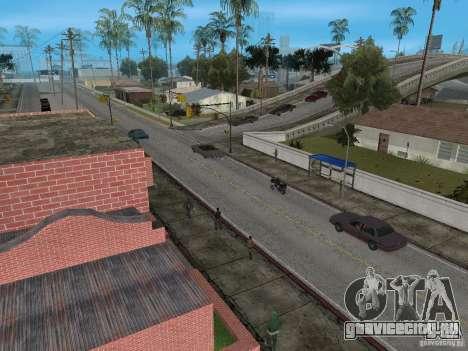 Новый Groove Street для GTA San Andreas второй скриншот