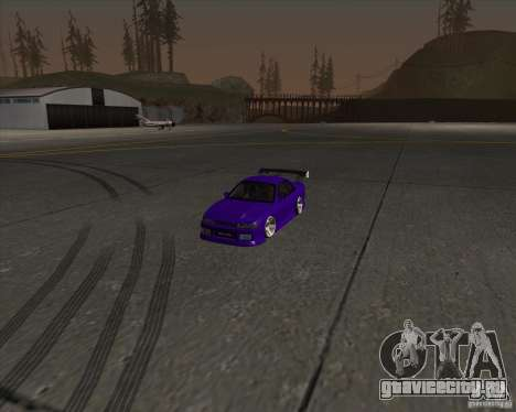 Nissan Silvia S13 Nismo tuned для GTA San Andreas вид сбоку