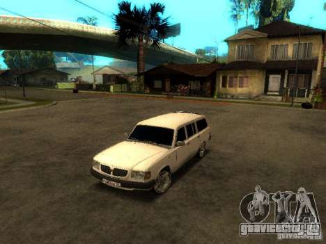 ГАЗ 310221 ВОЛГА TUNING version для GTA San Andreas вид слева