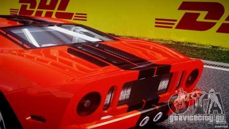 Ford GT 2006 v1.0 для GTA 4 салон