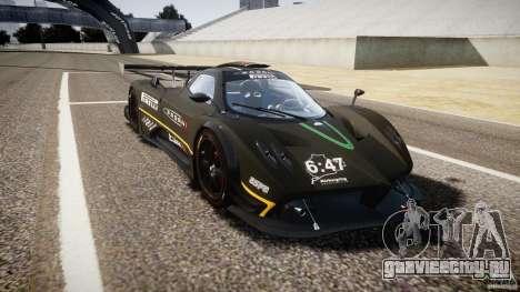 Pagani Zonda R 2009 для GTA 4 вид изнутри